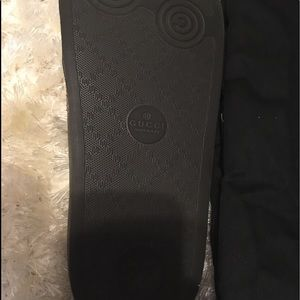 Authentic GUCCI Leather slides